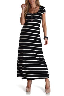 pink blush maternity striped dress