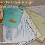 DIY Recipe Card Ring