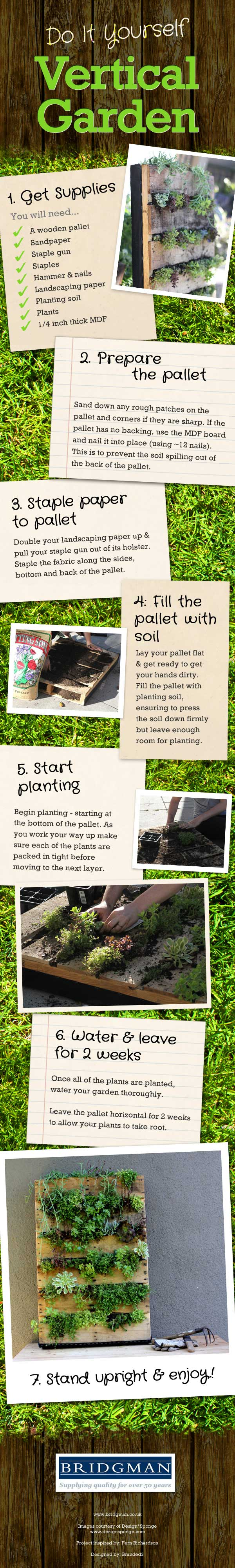 Do It Yourself Vertical Garden!