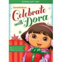 dora celebrate with dora 3 dvd gift set available starting november 15th