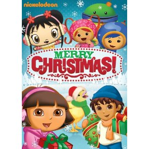 nickelodeon favorites merry christmas dvd out now time to