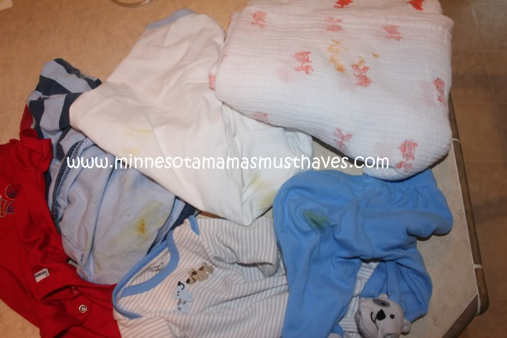 Getting Stains Out Of Kids Clothes