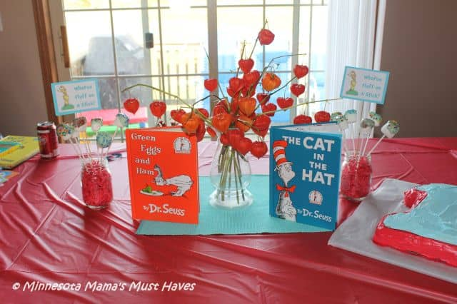 Dr Seuss Birthday Party Dr Seuss Party Food Ideas More