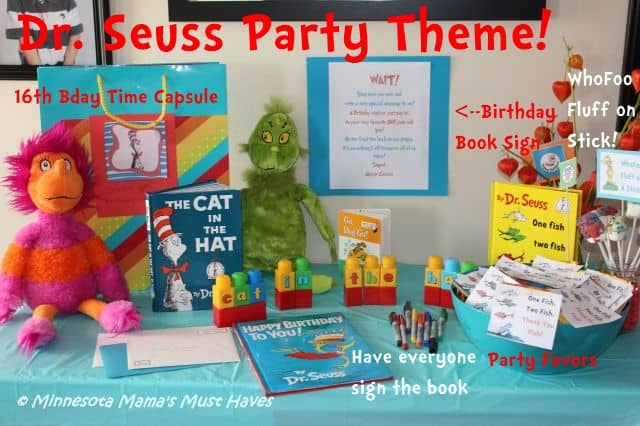Dr Seuss Birthday Party Food Ideas More