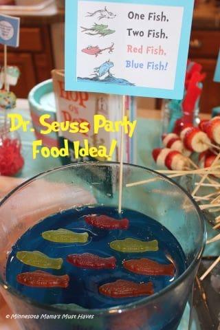 One fish Two fish blue jello