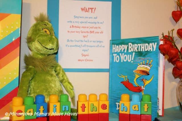 Seuss first birthday