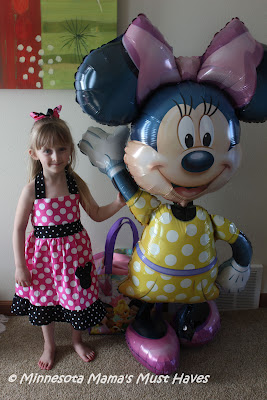 Minnie Mouse Birthday Party!! Danika is Now A Whopping 4 Years Old!