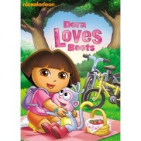 aiden has a new favorite movie dora loves boots on dvd