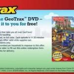 Free GeoTrax DVD!
