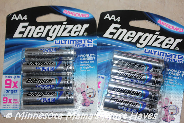 energizer ultimate lithium aa batteries keep your devices running 9x longer review giveaway. Black Bedroom Furniture Sets. Home Design Ideas
