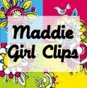 Unique & Adorable Hair Bows! Maddie Girl Clips Review & Giveaway!