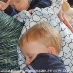 Wordless Wednesday! Sleeping Boys