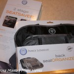 Prince Lionheart Back Seat Organizer & 2 Stage SeatSaver! {Review & Giveaway}