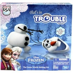Olaf's In Trouble Game