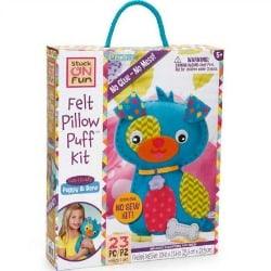 PomTree Felt Puppy & Bone Pillow Puff™ Kit