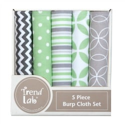 Trend Lab Burp Cloth Set