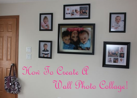 How To Create A Wall Photo Collage!