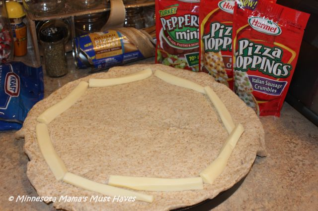 Pillsbury Whole Grain Pizza Crust