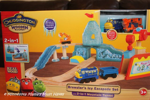 Chuggington Train Track Set & The NEW Chuggington Playset: Wilson\u0027s Wild Ride Deluxe Action Playset!