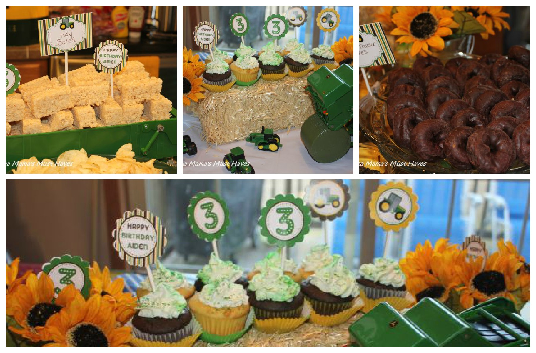John Deere Tractor Birthday Party Food Games Favors & More