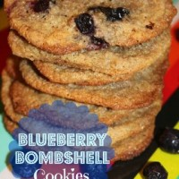 Blueberry Bombshell Cookies
