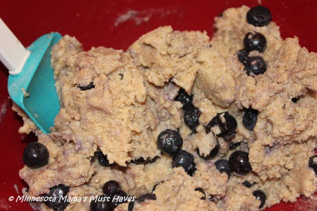 Blueberry Bombshell Cookie Recipe ~ Cookie Recipe with Wheat Flour