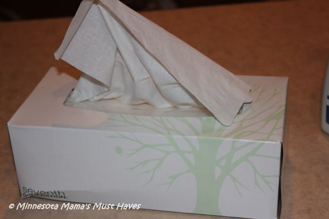 Seventh generation cold care kit diy monster tissue box project