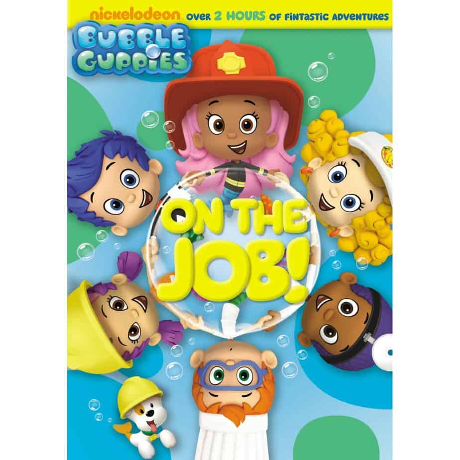 bubble guppies on the job dvd
