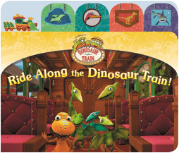 Ride Along the Dinosaur Train Book Review + FREE Dinosaur Train Valentine's, Games & Printables!