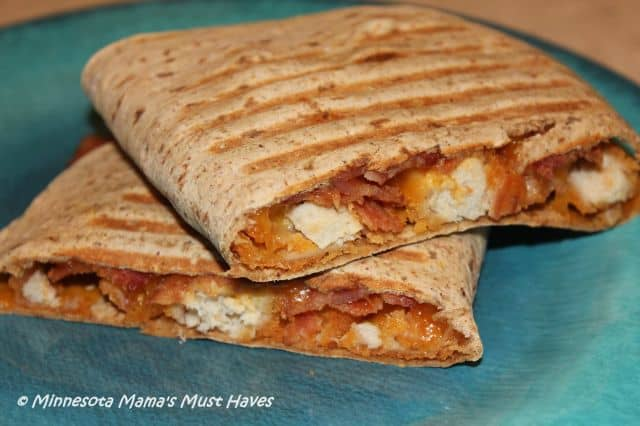 Flatout Hungry Girl Chicken Bacon Panini
