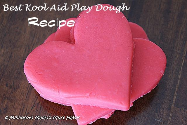 BEST Kool Aid Playdough Recipe!