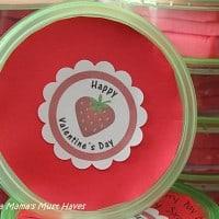 Cute Homemade Play Dough Valentine's!