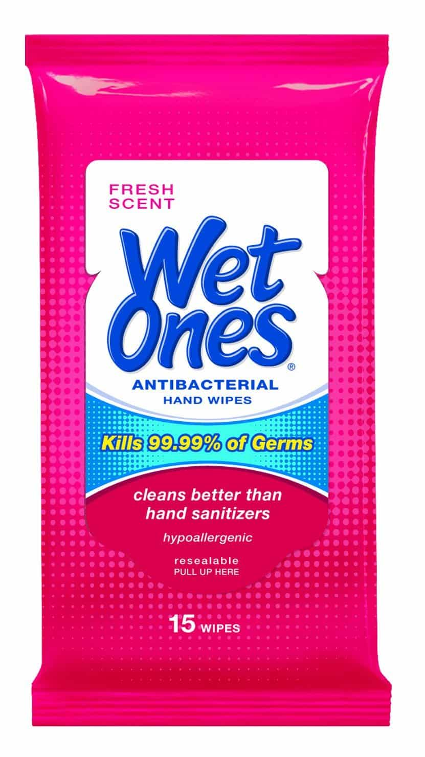 wet ones wipes pack