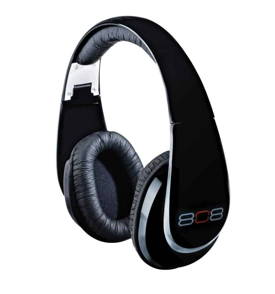 808 headphones black