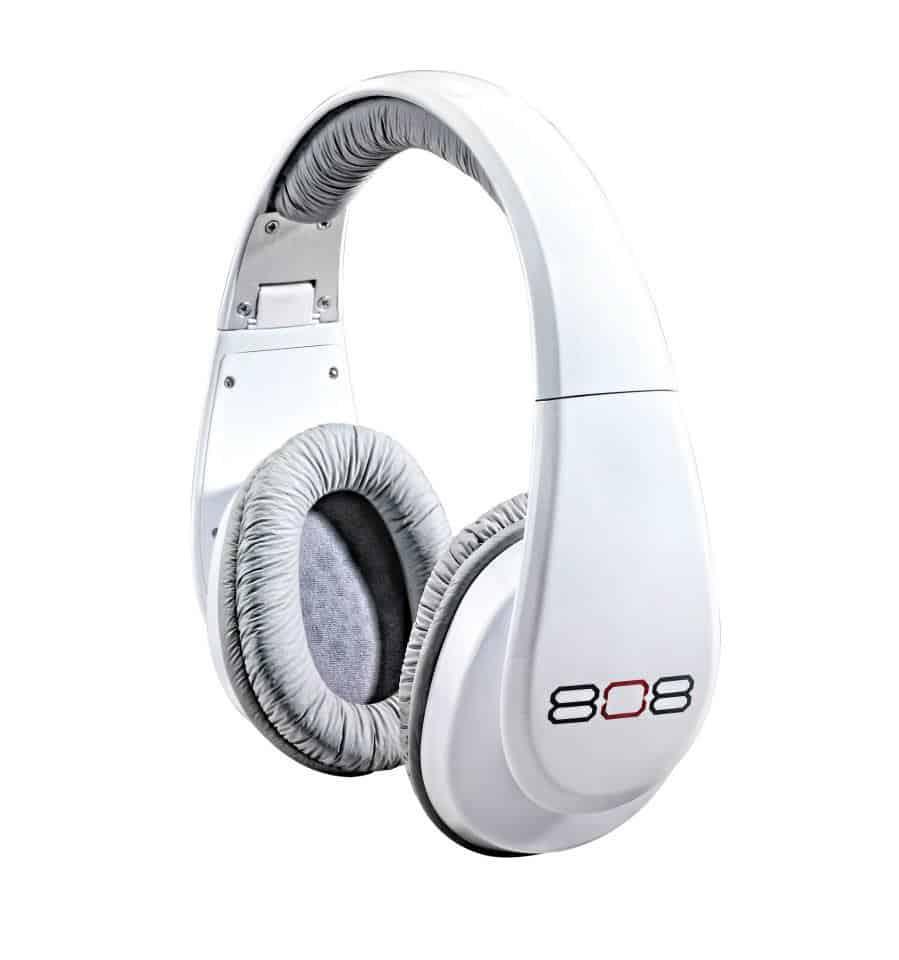 808 white headphones