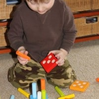 Teach Your Child Counting With First Fun with Quantities Pegging Game From HABA!