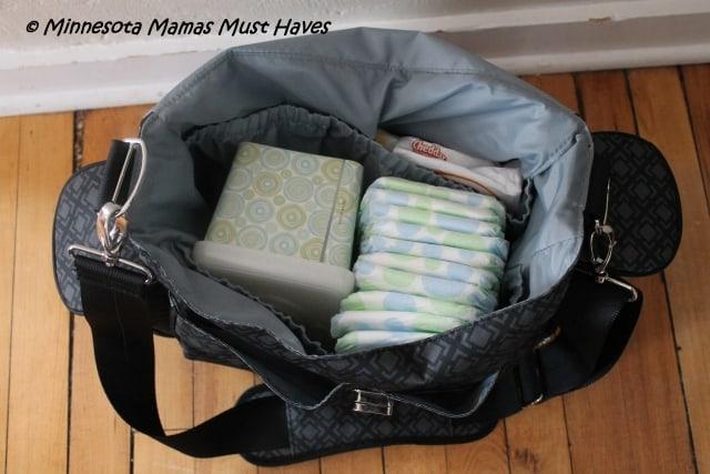 Jj Cole Over The Shoulder Diaper Bag 40