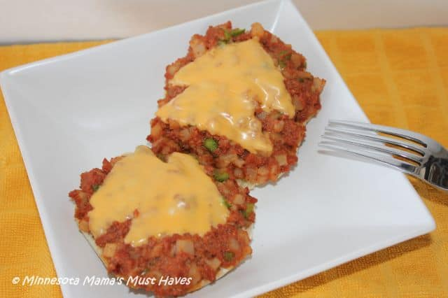 Cheesy Corned Beef Recipe
