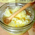 DIY Honey Lemon Facial Scrub
