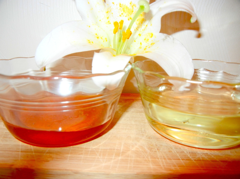 DIY Honey Lemon Facial Scrub