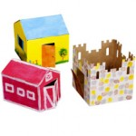 Square One Kids Easy Town Playset