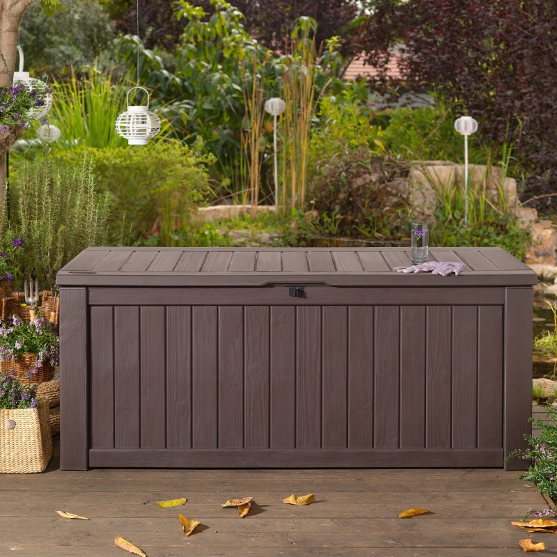 Outdoor storage solutions for summer must have mom for Garden storage solutions