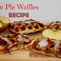 Apple Pie Waffles Recipe