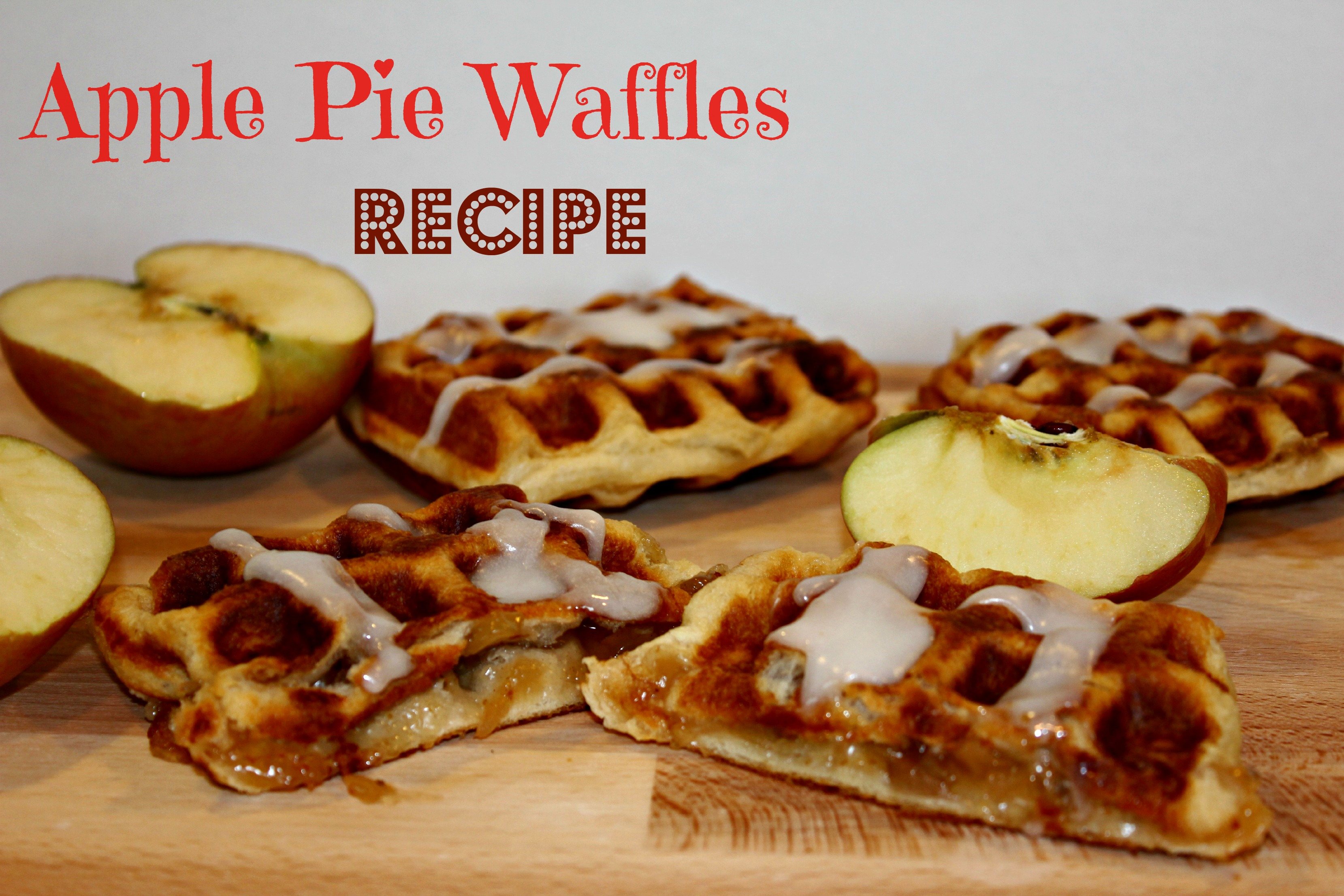 Apple Pie Waffles Recipe!