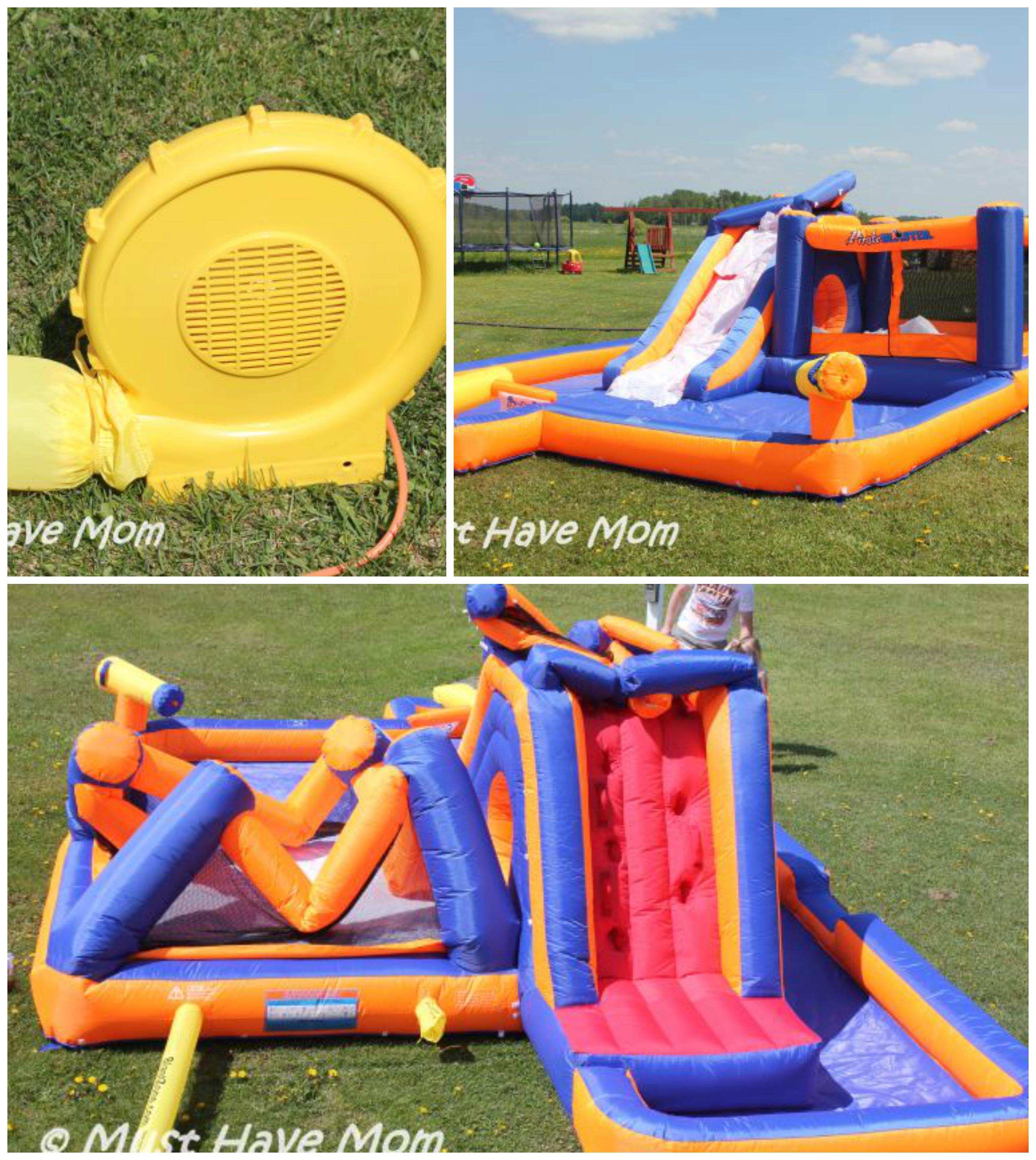 eca98ac72ccb Inflatable Pirate Water Park from Bounce Houses Now +  500 Gift Card