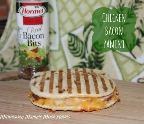 Chicken Bacon Panini: Easy Lunch Idea