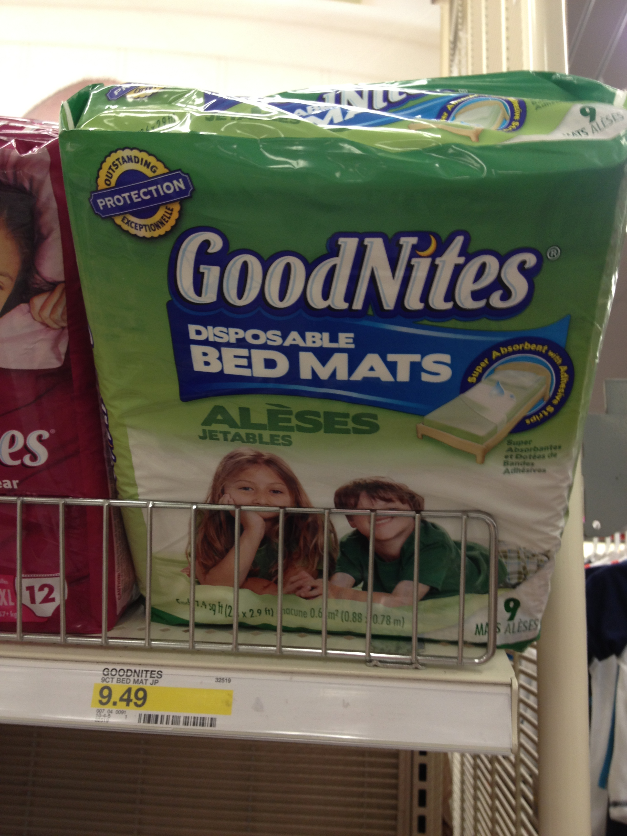 GoodNites Bed Mats Make For Easier Nights During Nighttime Potty Training!