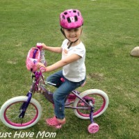 Danika's New Huffy Disney Princess Bike!