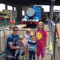 Our Day Out With Thomas The Train in Duluth, MN!