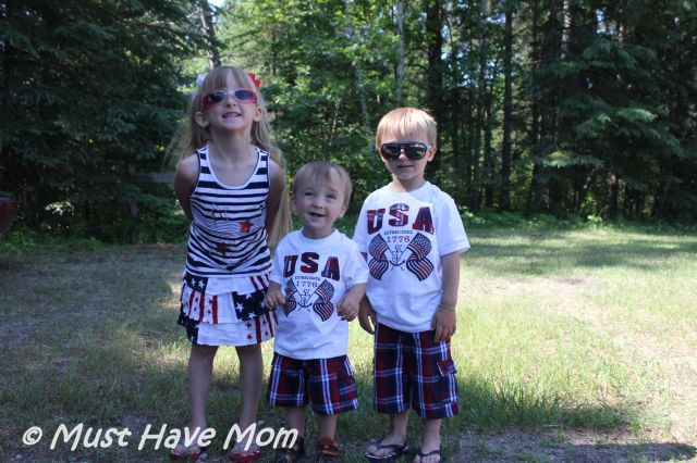 The Children's Place Fourth of July Sibling Outfits